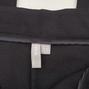 ASOS Pants - ASOS High Rise Peg Pants with Obi Tie Size 6